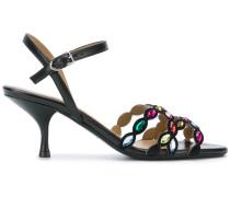 Sandalen mit Strassbesatz - Unavailable