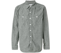 chambray patch pocket shirt