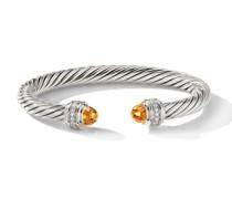 'Cable Armreif mit Diamanten