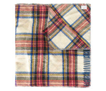 tartan print scarf