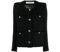 Tetys tweed-effect jacket