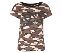 T-Shirt im Military-Look