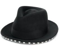 embellished fedora hat