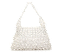 'Quinn' Schultertasche mit Perlen