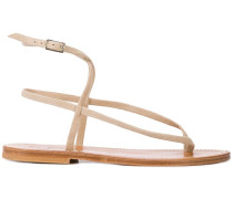 'Delta' Sandalen mit Zehenriemen