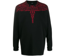 'Red Wings' Sweatshirt mit Print