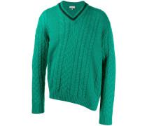 Asymmetrischer Pullover