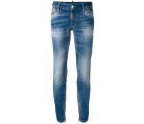 Halbhohe 'Twiggy' Skinny-Jeans