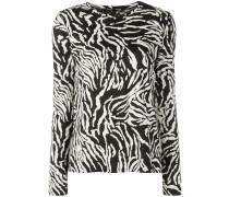 Langarmshirt mit Zebramuster