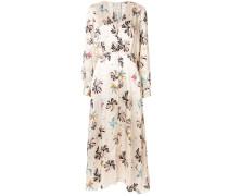 Printed Satin Silk Dress