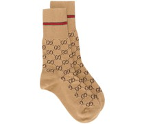 Socken mit GG-Muster