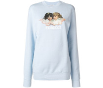 'Angels' Pullover mit Print