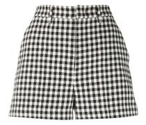 Shorts mit Vichy-Karo