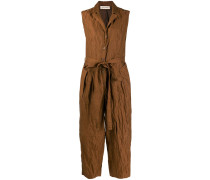 Cropped-Jumpsuit in Knitteroptik