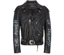 'The Power of Dreams' Lederjacke