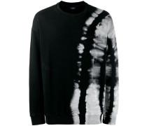 Sweatshirt mit Batikmuster