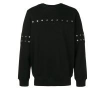 Sweatshirt mit Ösen
