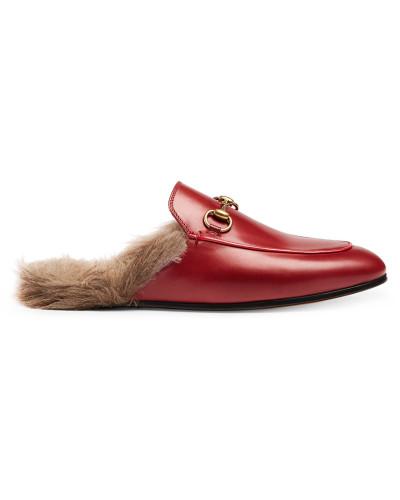 Auslass Verkauf Wirklich Online Gucci Damen Princetown leather slippers Freiheit In Deutschland Offizieller Online-Verkauf Rabatt Bester Platz nVUzu