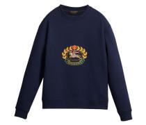 Sweatshirt mit Archiv-Logo
