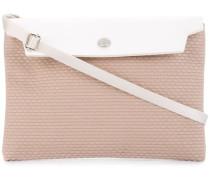 contrast flap mini bag