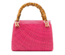 Handtasche aus Raffiabast