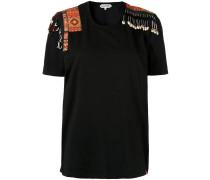 Verziertes T-Shirt