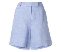 tab front short shorts
