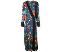 Kimonokleid mit floralem Print