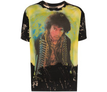 T-Shirt mit Bleached-Effekt