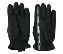 Handschuhe mit Logo-Streifen