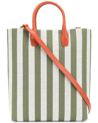Mansur Gavriel Damen Gestreifter Shopper Hohe Qualität Günstig Online Gefälschte Online-Verkauf Steckdose Mit Paypal Online Bestellen UpHhZ877gQ
