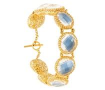 Olivia Auzre Foil Button bracelet