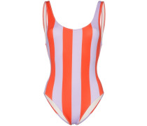 Badeanzug mit breiten Streifen