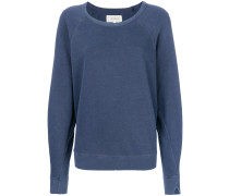 distressed detail sweatshirt