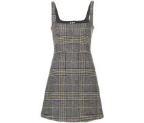 Kariertes Kleid mit Trägern