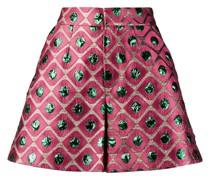 Shorts mit geometrischem Muster