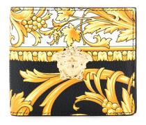 Portemonnaie mit Barock-Print
