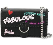 'Love Fabulous' Schultertasche
