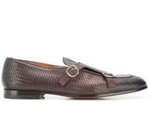 Monk-Schuhe mit geflochtenem Design