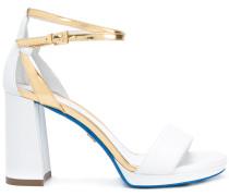 Sandalen mit Pfennigabsatz