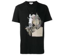 T-Shirt mit Totenkopf