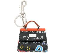 Schlüsselanhänger mit Handtaschendesign