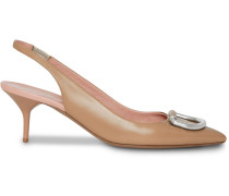 Slingback-Pumps mit D-Ring