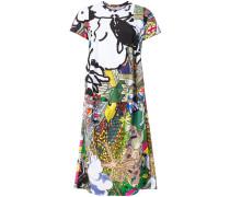T-Shirt-Kleid mit Cartoon-Print