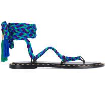 rope-tie sandals