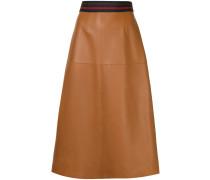 sports rib A-line skirt