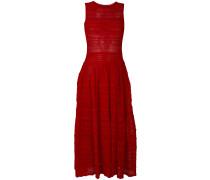 frilled trim dress