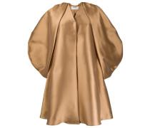 Oversized-Mantel im Metallic-Look