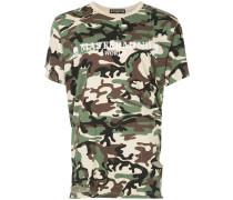military logo T-shirt
