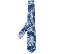 Krawatte mit Paisley-Print